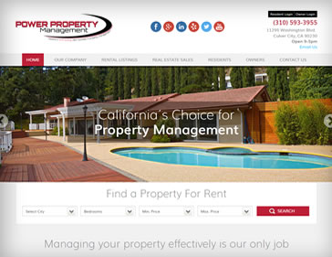 power Property Management website