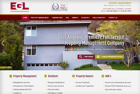 EGL Properties, Inc. Property Management