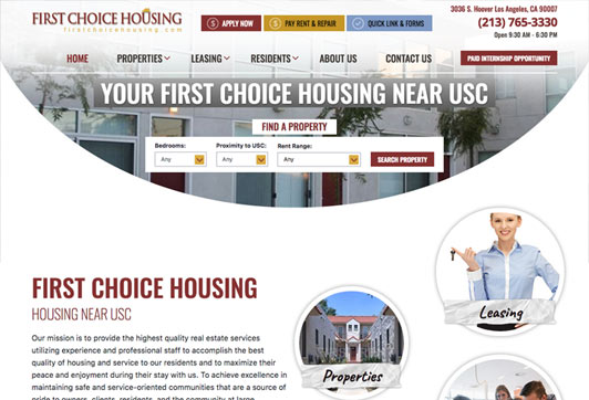First Choice Housing Student Housing