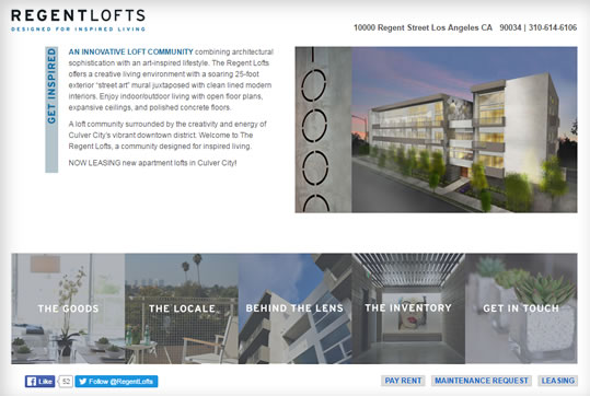 Regent Lofts Property Management