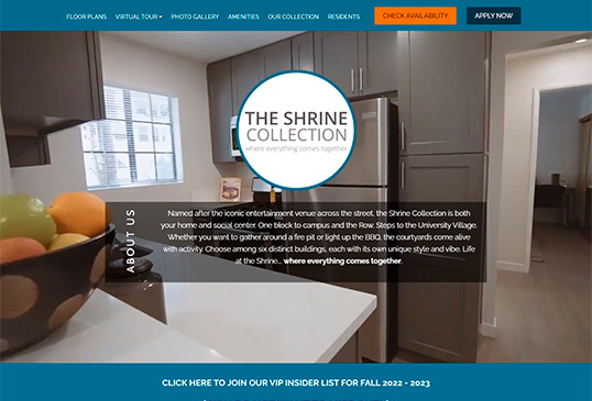The Shrine Collection Student Housing