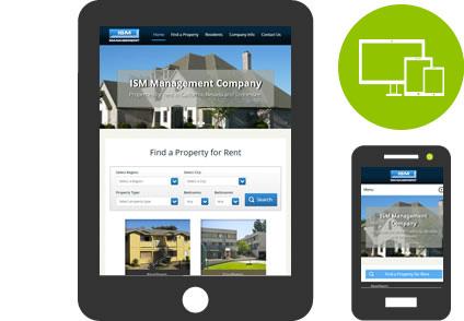 Property management websites with custom Yardi integration